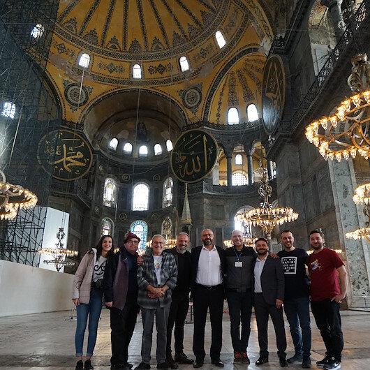Turkish musician records Hagia Sofia acoustics