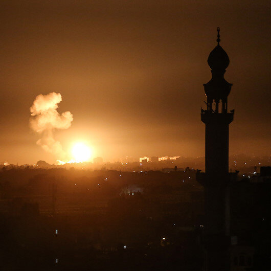 Israeli warplanes strike Hamas targets in Gaza