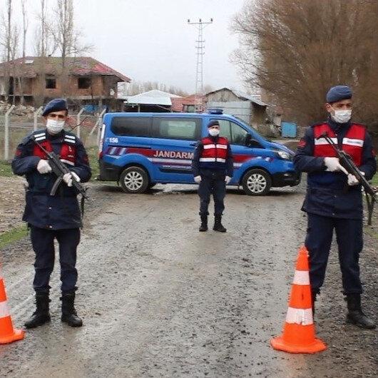 Çankırı'da bir köye tedbir amaçlı giriş ve çıkışlar durduruldu