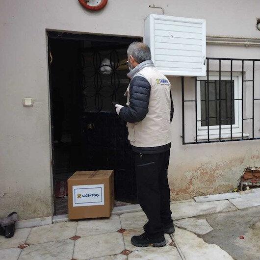 Sadakataşı'ndan Türkiye'de 100 bin aileye gıda yardımı