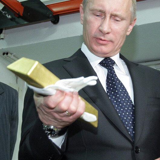 Rusya dövizden sonra altın alımını da durdurdu