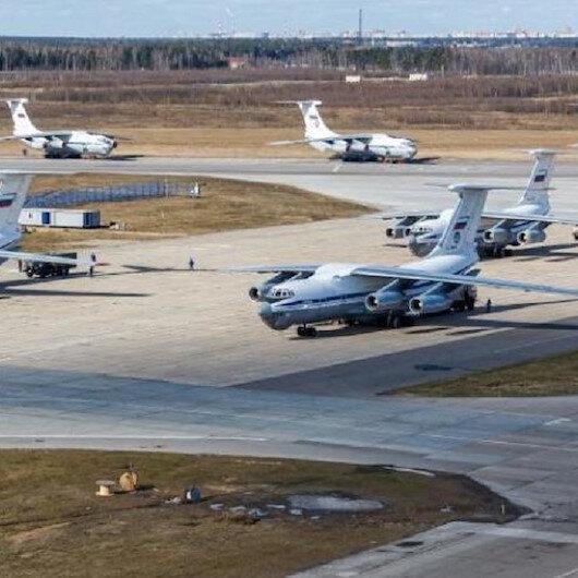 روسيا ترسل طائرة مساعدات طبية إلى الولايات المتحدة