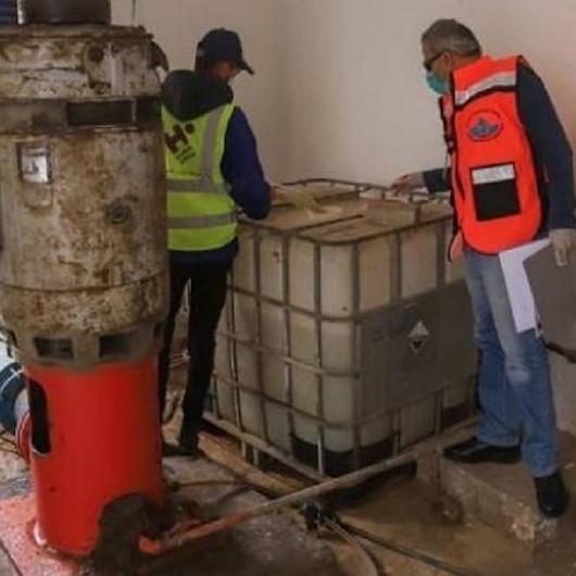 غزة.. تعقيم مصادر المياه للوقاية من كورونا