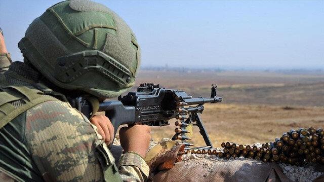 تركيا تحيّد 10 إرهابيين في منطقة
