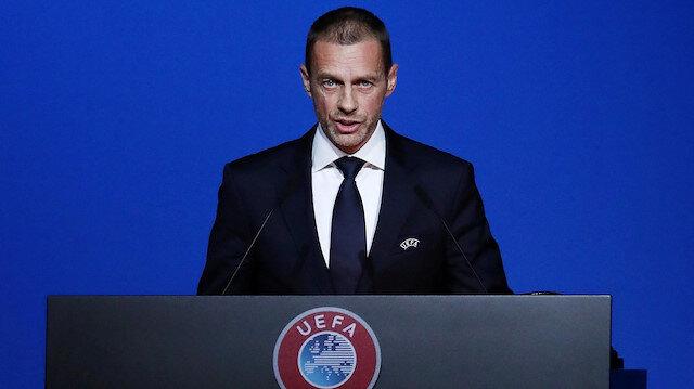 UEFA Başkanı Aleksander Ceferin yeni planlarını açıkladı ve tarih verdi