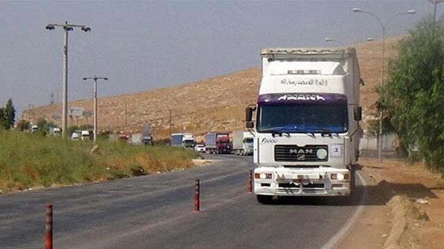 59 شاحنة مساعدات أممية تدخل