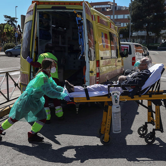 Spain's coronavirus death toll slows further on Monday