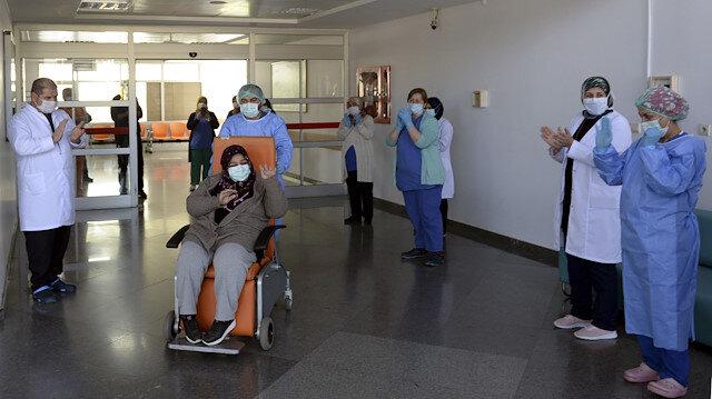 File photo: 42-year-old woman beats coronavirus in Turkey's Tokat