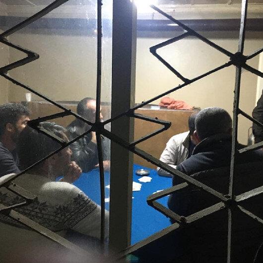 Bolu'da evde kumar oynayan 8 kişiye para cezası
