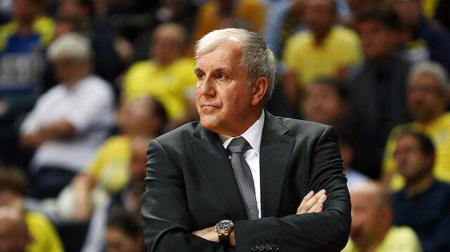 Fenerbahçe Beko Başantrenörü Zeljko Obradovic'ten sözleşme açıklaması