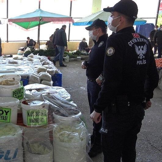 Maske uyarısı yapan polise tepki gösterdi: Bak ben de jandarmayım