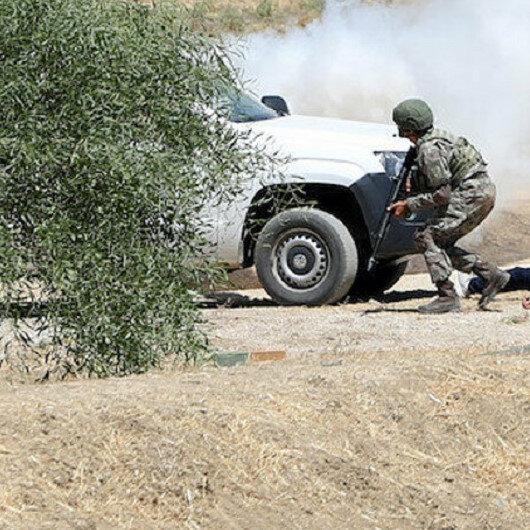Barış Pınarı bölgesine sızma girişiminde bulunan 13 terörist etkisiz hale getirildi