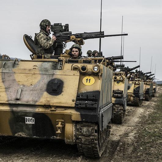Suriye'de 20 YPG/PKK'lı terörist etkisiz hale getirildi