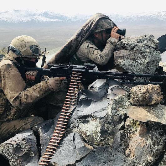 Barış Pınarı bölgesine sızma girişiminde bulunan 11 PKK/YPG'li terörist etkisiz hale getirildi