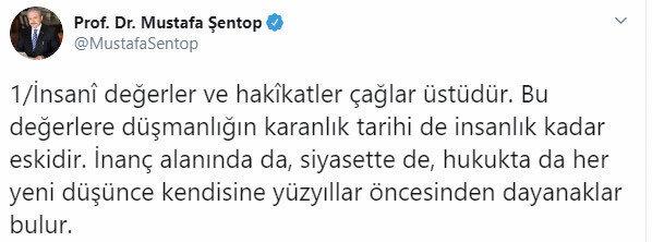Mustafa Şetop'un paylaşımı