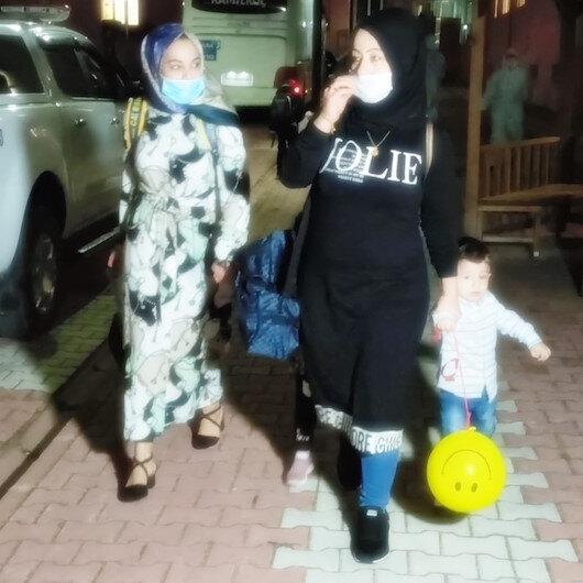 Karantina süresi dolan 314 kişi evlerine gönderildi