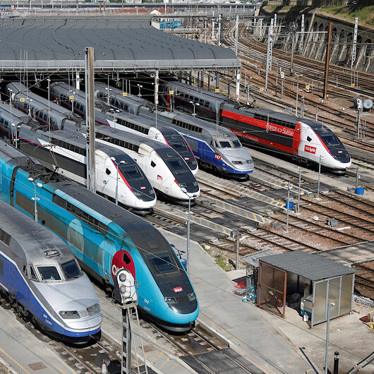 French state railway SNCF sees 2 bln euro hole, might need state aid