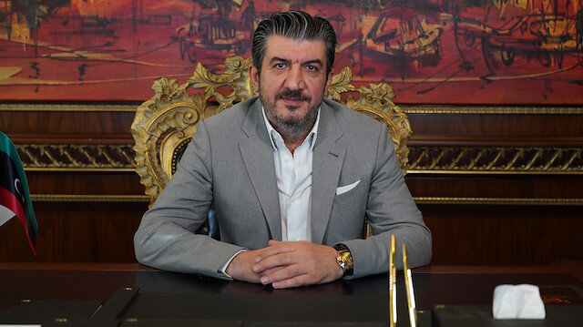 Murtaza Karanfil, head of Foreign Economic Relations Board (DEIK) Turkey-Libya Business Council