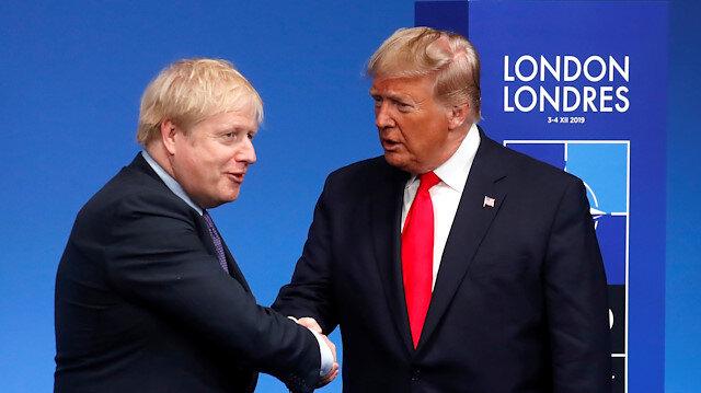 File photo: FILE PHOTO: Britain's Prime Minister Boris Johnson - U.S. President Donald Trump