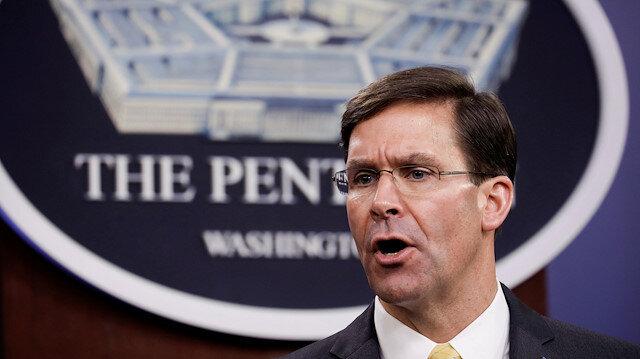 FILE PHOTO: U.S. Defense Secretary Mark Esper