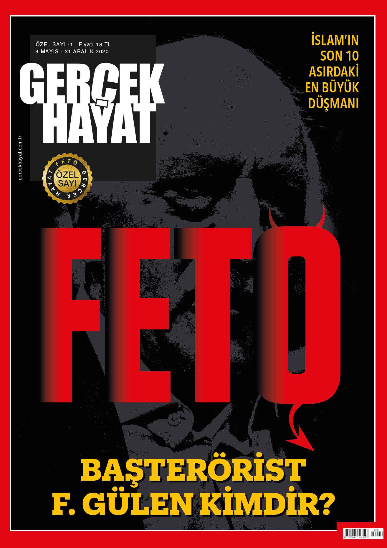 176 sayfalık özel sayıda, FETÖ ve Pensilvanya'daki lideri Fetullah Gülen'e dair birbirinden çarpıcı bilgi ve belgeler yer alıyor.