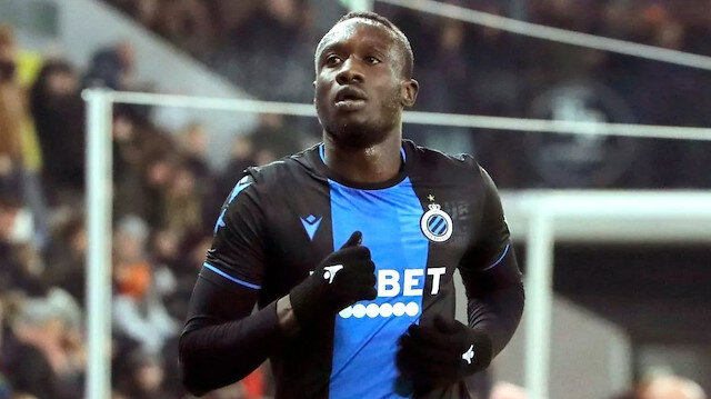 Diagne, Club Brugge formasıyla çıktığı 9 maçta 4 gol attı.