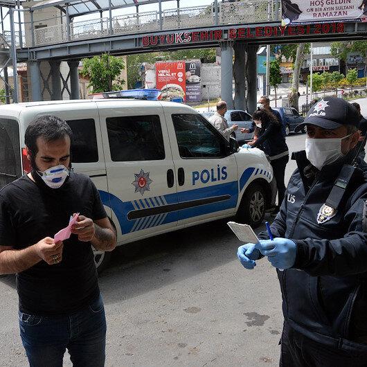 Düzce'de polisten kaçan sürücüye 3 bin 702 lira ceza