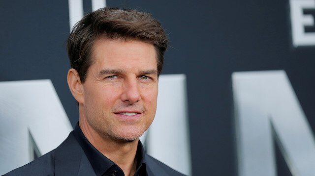 File photo: Actor Tom Cruise poses for photographers