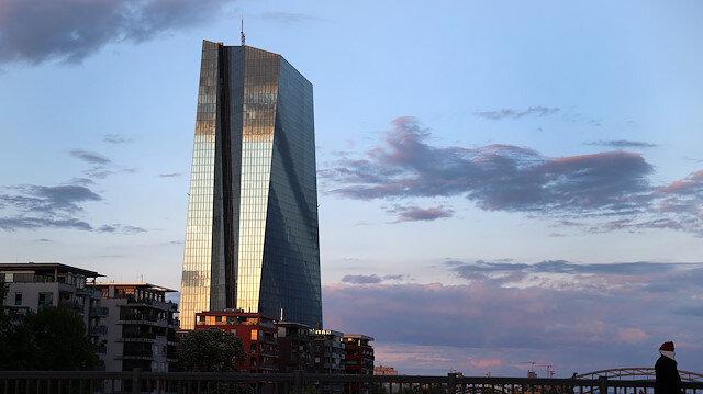 Headquarters of European Central Bank (ECB) in Frankfurt, Germany.