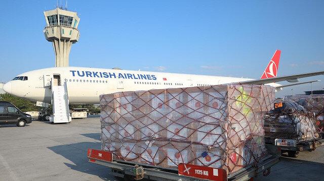Turkey sends medical supplies to Ukraine to fight virus