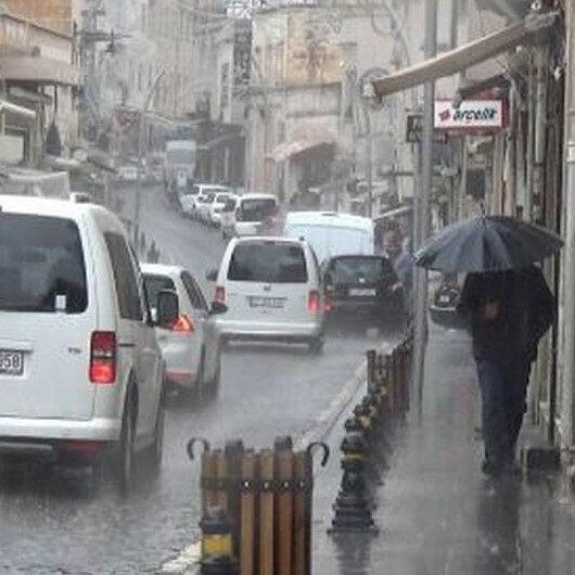 Meteorolojiden 12 il için sağanak uyarısı: Su baskınları olabilir