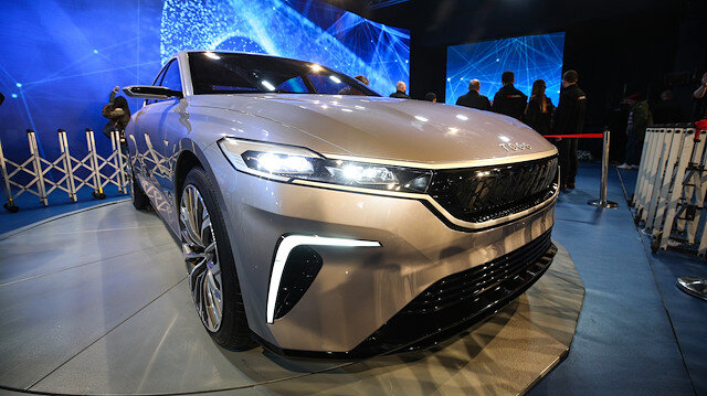 Turkey reveals prototype of first indigenous car