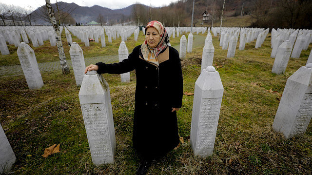 Lonely mothers of Srebrenica