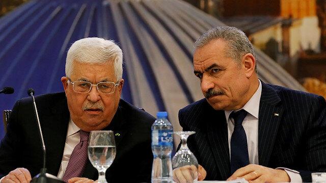 Palestinian President Mahmoud Abbas & Palestinian Prime Minister Mohammad Shtayyeh