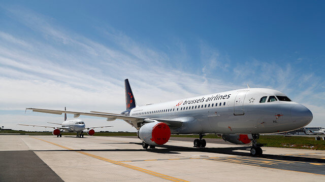 Brussels Airlines aircrafts