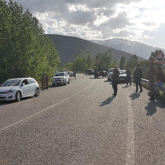Erzincan'da jandarmaya EYP'li saldırı: 1 yaralı