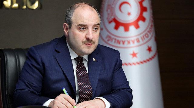 Turkish Industry and Technology Minister Mustafa Varank