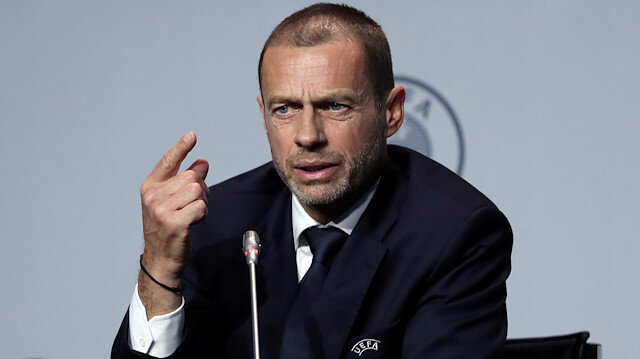 UEFA Başkanı Ceferin iddialı konuştu: Bahse girerim seyircili oynanacak
