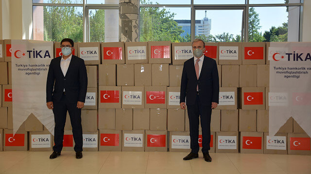 """أوزبكستان..""""تيكا"""" تقدم مساعدات لمتضرري انهيار سد """"سردوبا"""""""