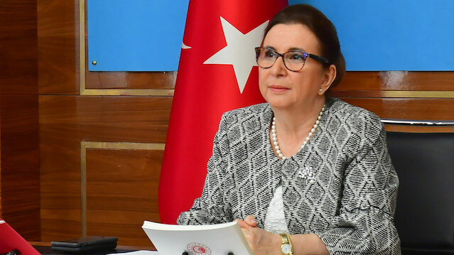 Turkey's Trade Minister Ruhsar Pekcan
