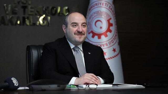 Technology and Industry Minister Mustafa Varank
