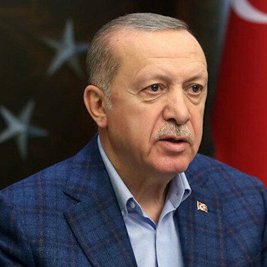 في تهنئة العيد.. أردوغان يشيد ببطولات الجيش التركي