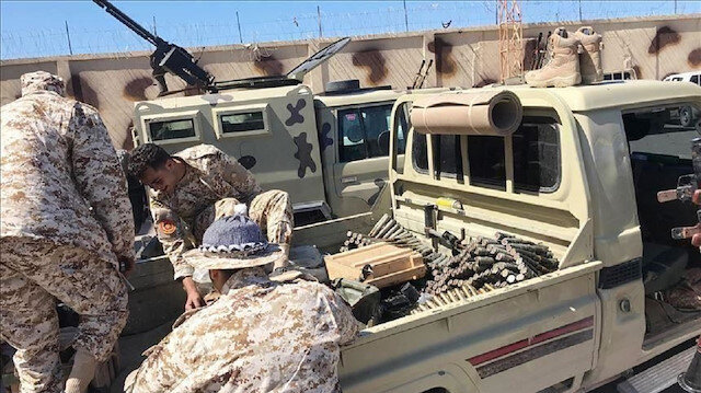 الجيش الليبي يدمر آليتين مسلحتين لمليشيا حفتر جنوبي طرابلس