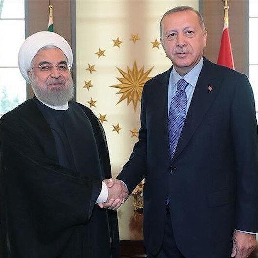 أردوغان وروحاني يتبادلان التهاني بمناسبة عيد الفطر