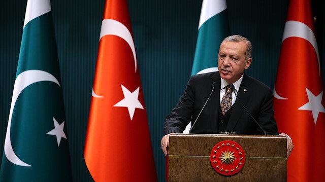 Recep Tayyip Erdogan - Imran Khan joint press conference in Ankara