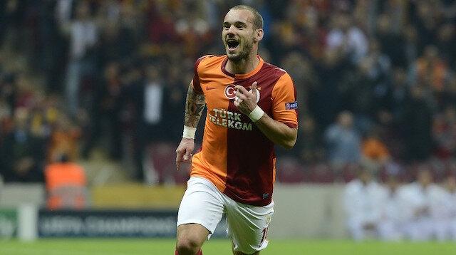 Sneijder yeniden Galatasaray yolunda