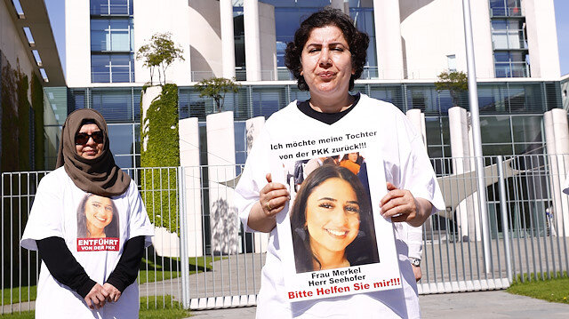 Mother protests for daughter kidnapped by PKK in Germany