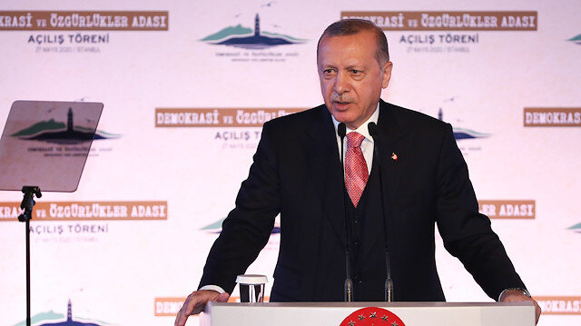 Turkey inaugurates Democracy and Liberties Island