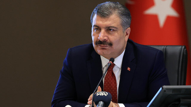 Turkish Health Minister Fahrettin Koca