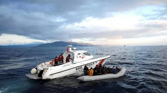 """خفر السواحل التركي ينقذ 23 طالب لجوء في بحر """"إيجه"""""""